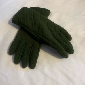 Lands End Fleece Lined Gloves